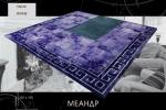 меховой прикроватный ковер МЕАНДР