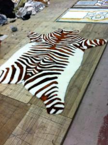 меховые шкурки тигр